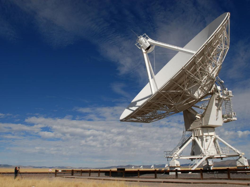 Параболические антенны Очень Большой цепочки (Very Large Array - VLA